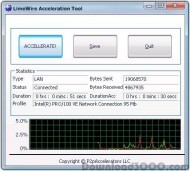 LimeWire Acceleration Tool screenshot